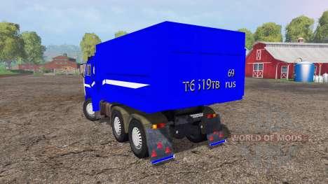 KamAZ-55111 v3.0 für Farming Simulator 2015