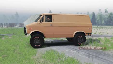 Chevrolet G10 1975 pour Spin Tires
