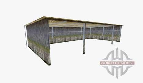 Hall v3.0 für Farming Simulator 2015