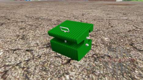 Weight John Deere pour Farming Simulator 2015