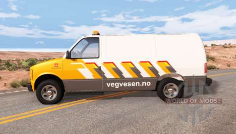 Gavril H-Series Statens vegvesen pour BeamNG Drive