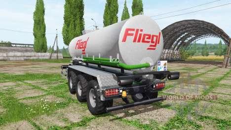 Fliegl hooklift pour Farming Simulator 2017
