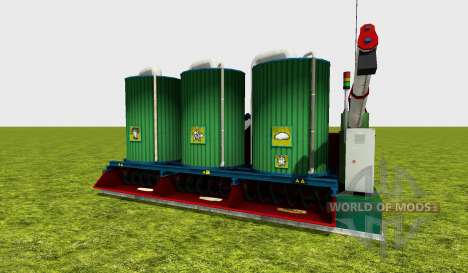Mixing station v3.0 pour Farming Simulator 2015