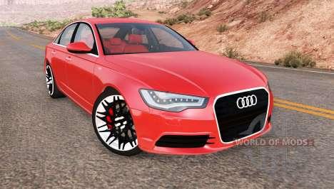 Audi A6 (C7) v1.3 pour BeamNG Drive