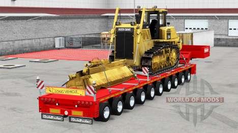 Goldhofer semitrailer pour American Truck Simulator