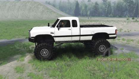 Dodge Power Ram 250 1991 für Spin Tires