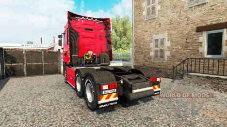 Renault T v4.3 pour Euro Truck Simulator 2