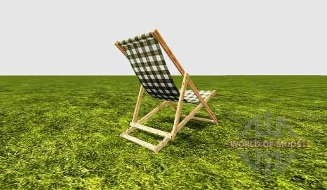 Deck chair green für Farming Simulator 2015