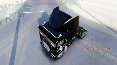Скин Road Ranger Remorquage на Freightliner FLAG pour American Truck Simulator