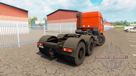 KamAZ 6460 v2.0 für Euro Truck Simulator 2