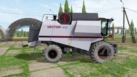 Vecteur 410 v2.0 pour Farming Simulator 2017