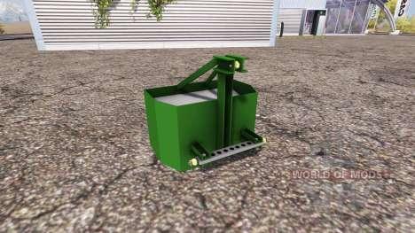 Weight pour Farming Simulator 2013
