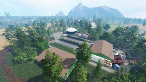 Tannheim Tal für Farming Simulator 2015