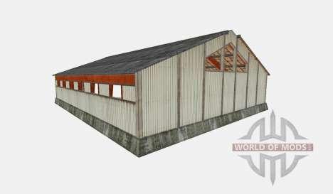 Hangar pour Farming Simulator 2015