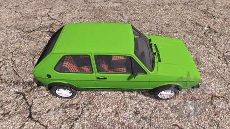 Volkswagen Golf GTI (Typ 19) 1976 für Farming Simulator 2013