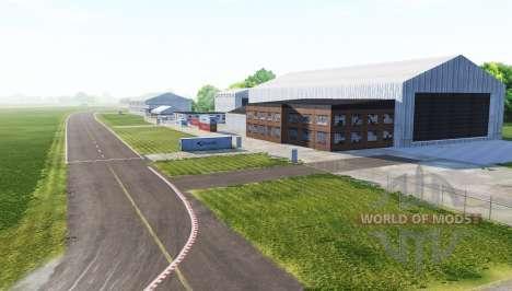 L'aérodrome de Dunsfold (piste d'essai de Top Ge pour BeamNG Drive