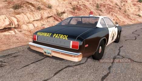 Bruckell Moonhawk California highway patrol für BeamNG Drive