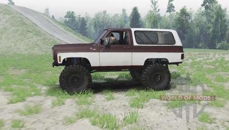 Chevrolet K5 Blazer v2.0 pour Spin Tires
