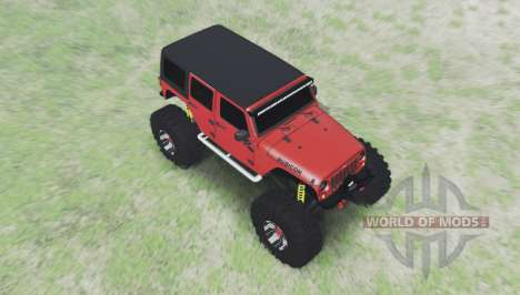 Jeep Wrangler für Spin Tires