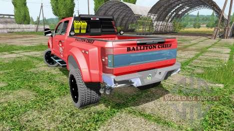 Ford F-450 fire service pour Farming Simulator 2017