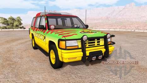 Gavril Roamer Tour Car Jurassic Park v1.0 für BeamNG Drive