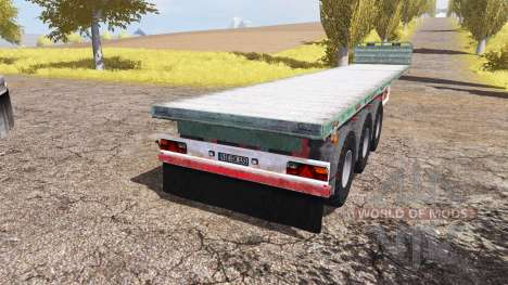 Kogel flatbed trailer für Farming Simulator 2013