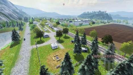 Two rivers pour Farming Simulator 2013