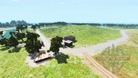 Hillside highway v1.2 für BeamNG Drive