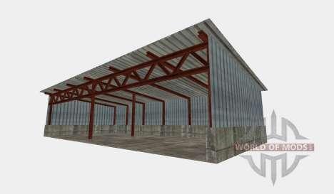 Pole barn für Farming Simulator 2015