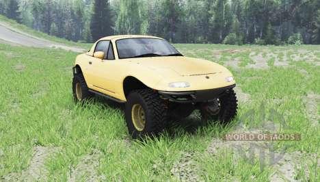 Mazda Miata 4x4 1997 für Spin Tires