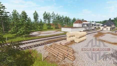 Holzhausen v1.1 für Farming Simulator 2017