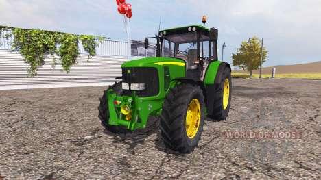 John Deere 6620 v2.0 pour Farming Simulator 2013