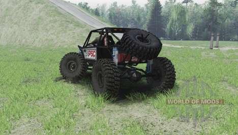 Nix Mantis Crawler v2.0 für Spin Tires