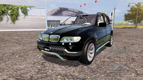 BMW X5 4.8is (E53) für Farming Simulator 2013