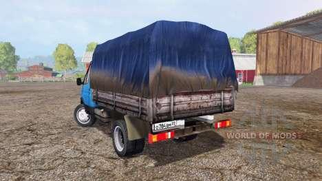 Die GAS-33021 GAZelle für Farming Simulator 2015