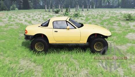 Mazda Miata 4x4 1997 pour Spin Tires