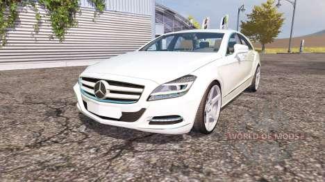 Mercedes-Benz CLS-Klasse (C218) v2.0 pour Farming Simulator 2013