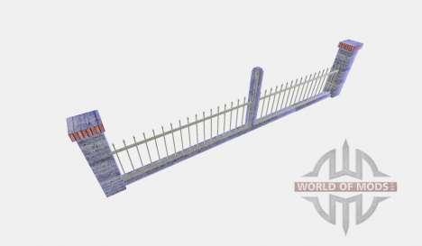 Metal fence pour Farming Simulator 2015