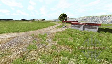 Small dirt path pour BeamNG Drive