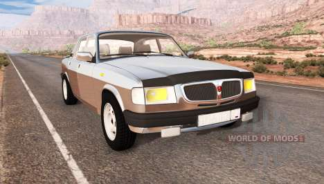 GAZ 3110 Volga für BeamNG Drive
