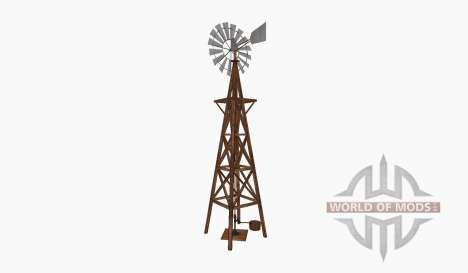 Wind pump tower bucket pour Farming Simulator 2015