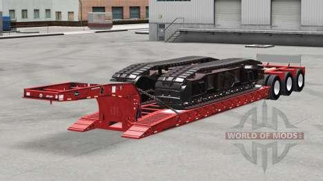 Low sweep Etnyre mit gewichten v2.0 für American Truck Simulator