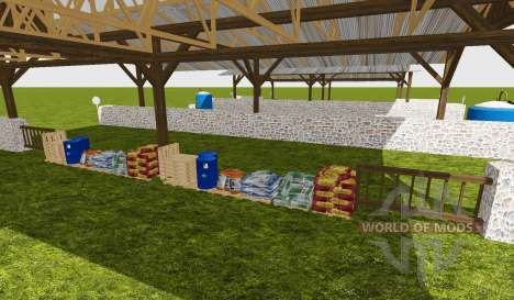 Multipurpose shed pour Farming Simulator 2015