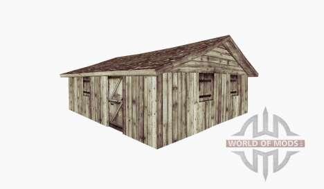 Small shed v2 pour Farming Simulator 2015