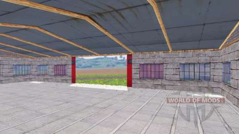 Placeable garage pour Farming Simulator 2015