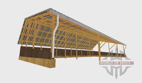 Pole barn v2 pour Farming Simulator 2015