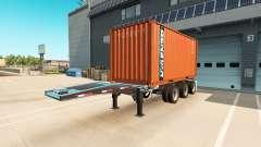 Auflieger-container-truck