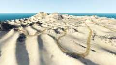 Desert trails v0.1 pour BeamNG Drive