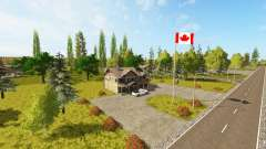 Canadian national map v1.1 pour Farming Simulator 2017