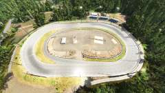 Agassiz speedway v1.01 pour BeamNG Drive